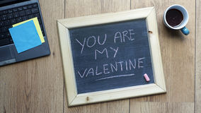 You are my valentine Stock Photography