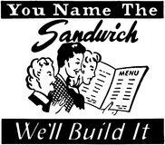You Name The Sandwich Royalty Free Stock Photo
