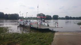 When you need to get across river Maas stock photos