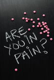 Are You in Pain? Royalty Free Stock Photo