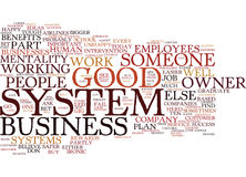 Are You Part Of Someone Else S System Word Cloud Concept Royalty Free Stock Image