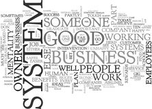 Are You Part Of Someone Else S Systemword Cloud Stock Photos