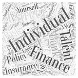 Are You Planning On Picking A Career In Finance word cloud concept  background. Text Royalty Free Stock Image