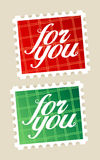 For you postage stamps. Stock Image