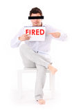 You're fired! Stock Photography