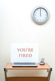 You're Fired Royalty Free Stock Image