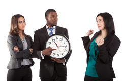 You`re late business concept Stock Photo