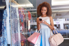 You're missing so many great sales at the mall Royalty Free Stock Photos