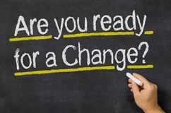 Are you ready for a Change Stock Images