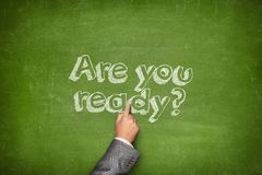 Are you ready concept Royalty Free Stock Photography