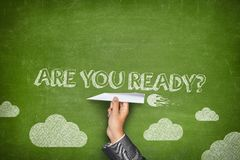 Are you ready concept Royalty Free Stock Image