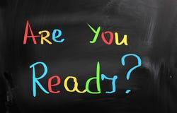Are You Ready Concept Stock Photos