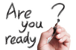 Are You Ready Royalty Free Stock Image
