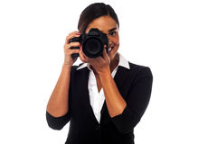 Are you ready for a picture? Royalty Free Stock Photos
