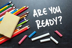 Are you ready? Royalty Free Stock Photography