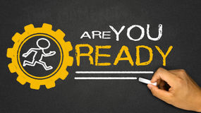 Are you ready Royalty Free Stock Photo