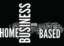 Are You Ready To Invest In A Home Based Business Word Cloud Concept Stock Photo
