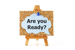 Are You Ready? Royalty Free Stock Images