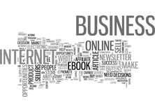 Are You In The Right Online Businessword Cloud. ARE YOU IN THE RIGHT ONLINE BUSINESS TEXT WORD CLOUD CONCEPT Royalty Free Stock Images