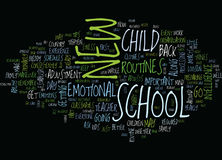 Are You In A School Daze Word Cloud Concept Stock Images