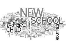 Are You In A School Daze Word Cloud Royalty Free Stock Image