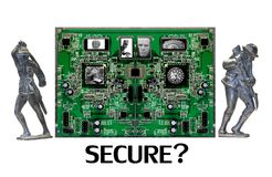 Are YOU Secure Online? Royalty Free Stock Photos