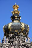 The Zwinger in Dresden, Saxony stock image