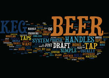 Are You Sick Of Bars Move The Tavern To Your House Word Cloud Concept Royalty Free Stock Image