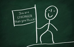You are stronger than you think Stock Photos