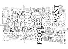 Are You Successfulword Cloud Royalty Free Stock Image