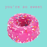 You are so sweet Royalty Free Stock Images