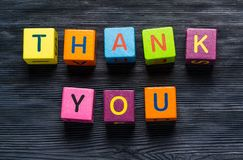 You. Thanks social thank thankfulness thankful client Royalty Free Stock Images