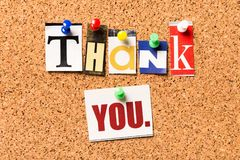You. Thanks thank sharing pin photography greeting Stock Image