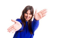 You there! Royalty Free Stock Image