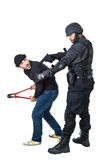 You are under arrest stock images