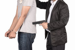 You are under arrest stock photos