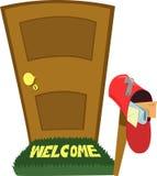 You've começ o correio! ilustração royalty free