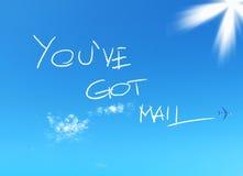 You've começ o correio Fotografia de Stock