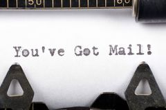 You've got mail Royalty Free Stock Photo