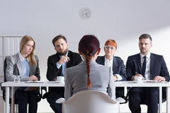 So you want work in our firm... Royalty Free Stock Images