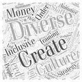 Are You Wasting Your Money on Diversity Training word cloud concept  background Stock Image