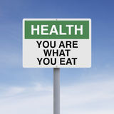 You Are What You Eat Royalty Free Stock Photos