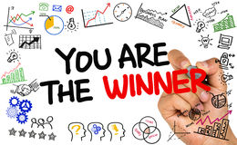 You are the winner Stock Images