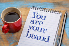 You are your brand Stock Photos