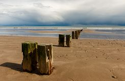 Youghal strand Cork Ireland Stock Photography