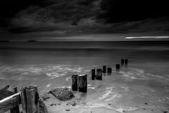 Youghal Strand before the Storm 1 Royalty Free Stock Image