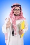 Youn arab student  Royalty Free Stock Photo