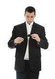 Youn man wearing tuxedo Royalty Free Stock Photography