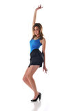 Youn woman dancing Royalty Free Stock Images