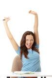 Yound Kursteilnehmerfrau Lizenzfreies Stockfoto